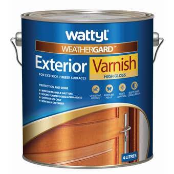 Weathergard Exterior Varnish 4L