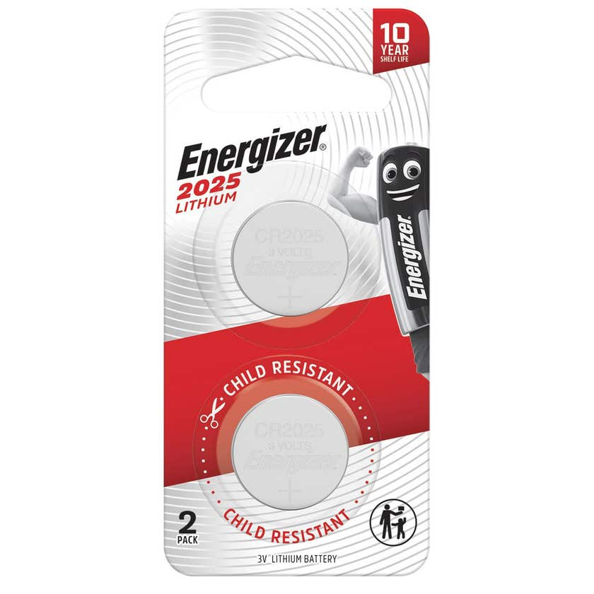 Energizer Lithium Coin Battery 2025