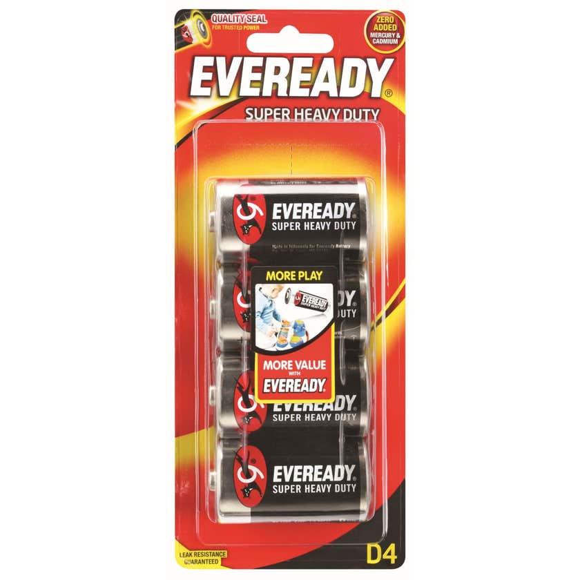 Eveready Super Heavy Duty Battery D