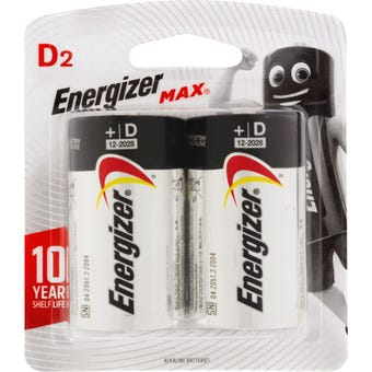 Energizer Max Battery D