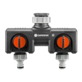 GARDENA Parallel Twin Tap Connector 13mm