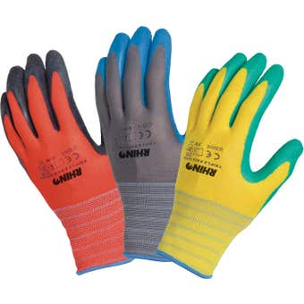 Rhino Gloves Triple Saver Pack