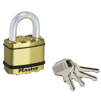 Master Lock Excell Padlock 50mm
