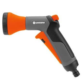 GARDENA Classic Soft Spray Trigger Gun Nozzle 13mm
