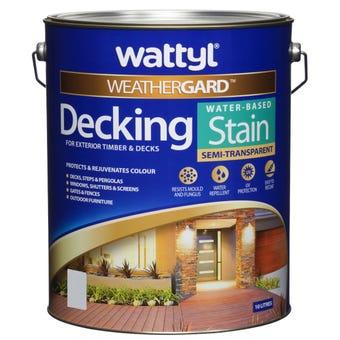 Weathergard Water Based Decking Stain New Golden Cedar 10L