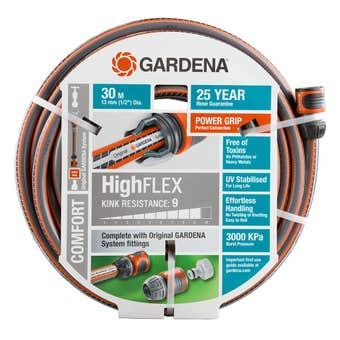GARDENA HighFLEX Fitted Hose 30m 13mm