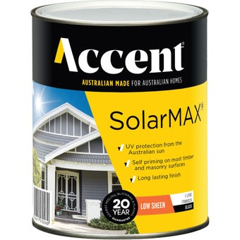 Accent® SolarMax Low Sheen Black 1L