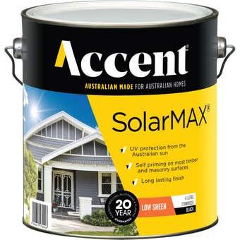 Accent® SolarMax Low Sheen Black 4L