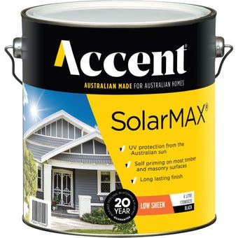 Accent® SolarMax Low Sheen Black 4L