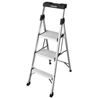 Hurricane™ 3 Step Dual Platform Ladder 120kg Domestic