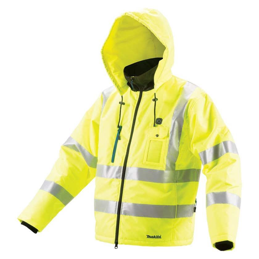 Makita 12V Max Li-Ion High Visibility Heated Jacket Skin