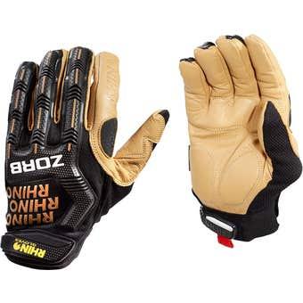 Rhino Zorb Leather Gloves