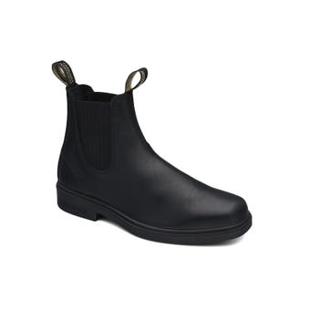 Blundstone Premium Leather Elastic Side Non-Safety Dress Boot Black 663