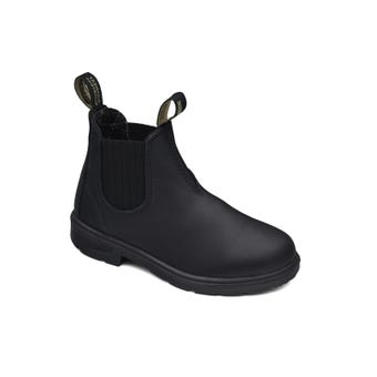 Blundstone Kids Leather Elastic Side Non-Safety Boot Black 631