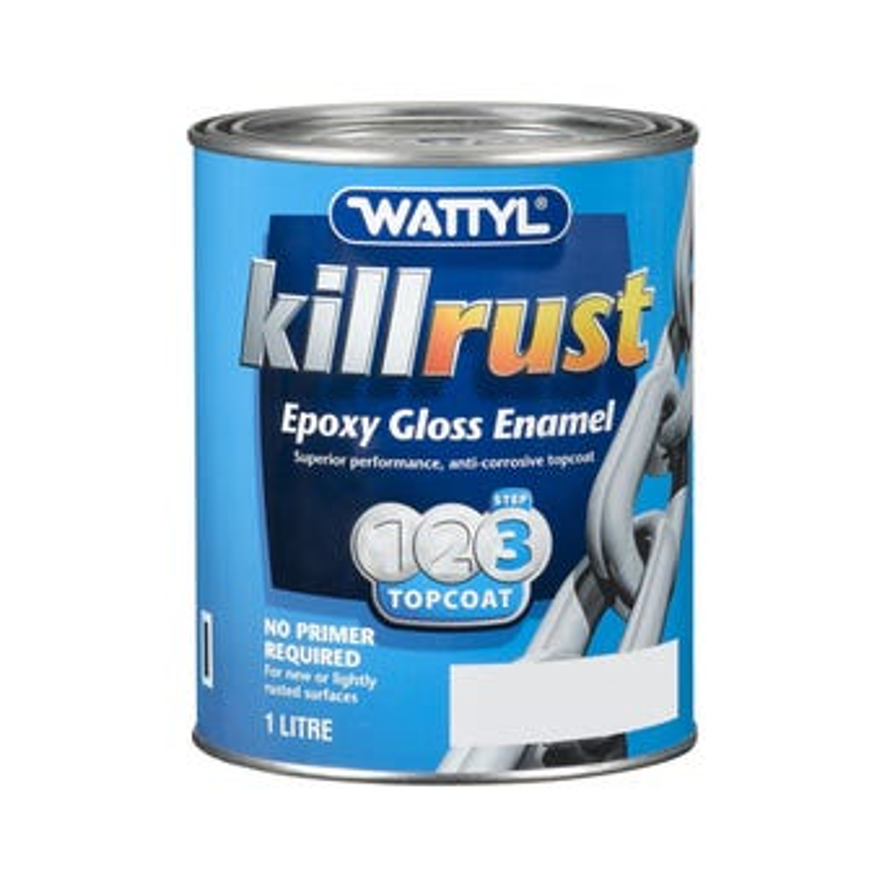 Killrust Epoxy Gloss Enamel Light Base 1L