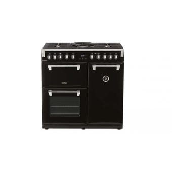 Belling Richmond Deluxe Freestanding Dual Fuel Range Cooker 900mm