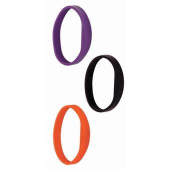 Schlage Credential Silicone Wristband Orange