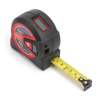 Workpro 2 In 1 Laser Tape Measure