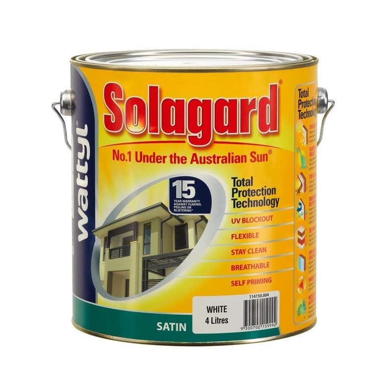 Wattyl Solagard Satin 4L