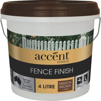 Accent® Fence Finish Mission Brown 4L