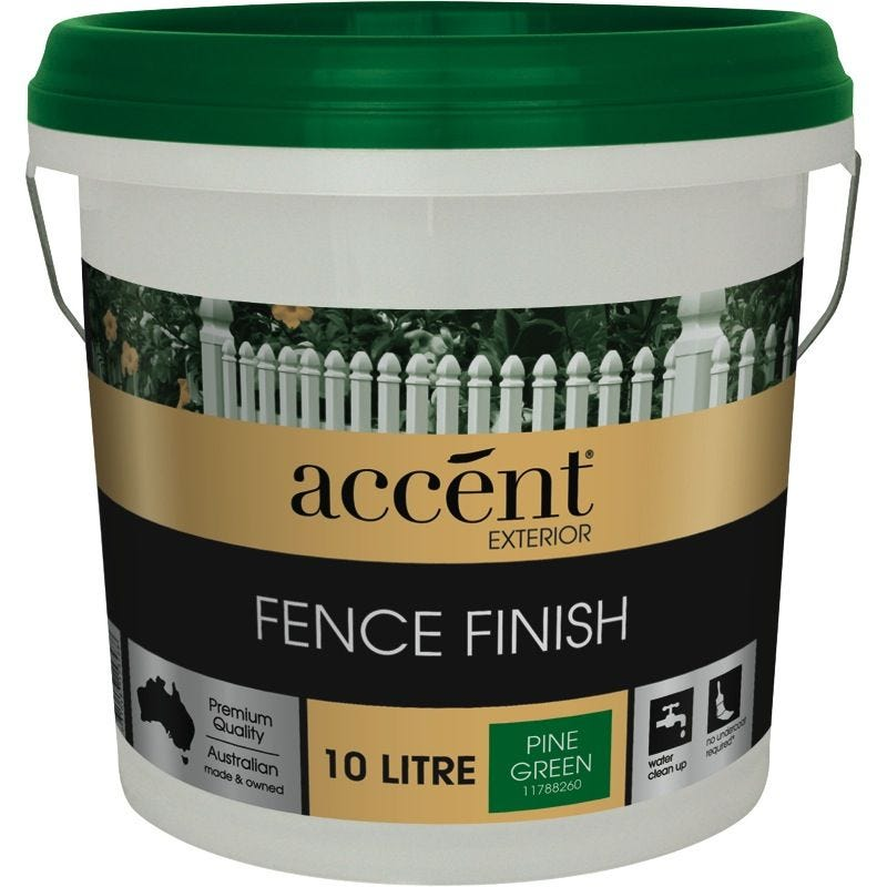 Accent® Fence Finish Pine Green 10L