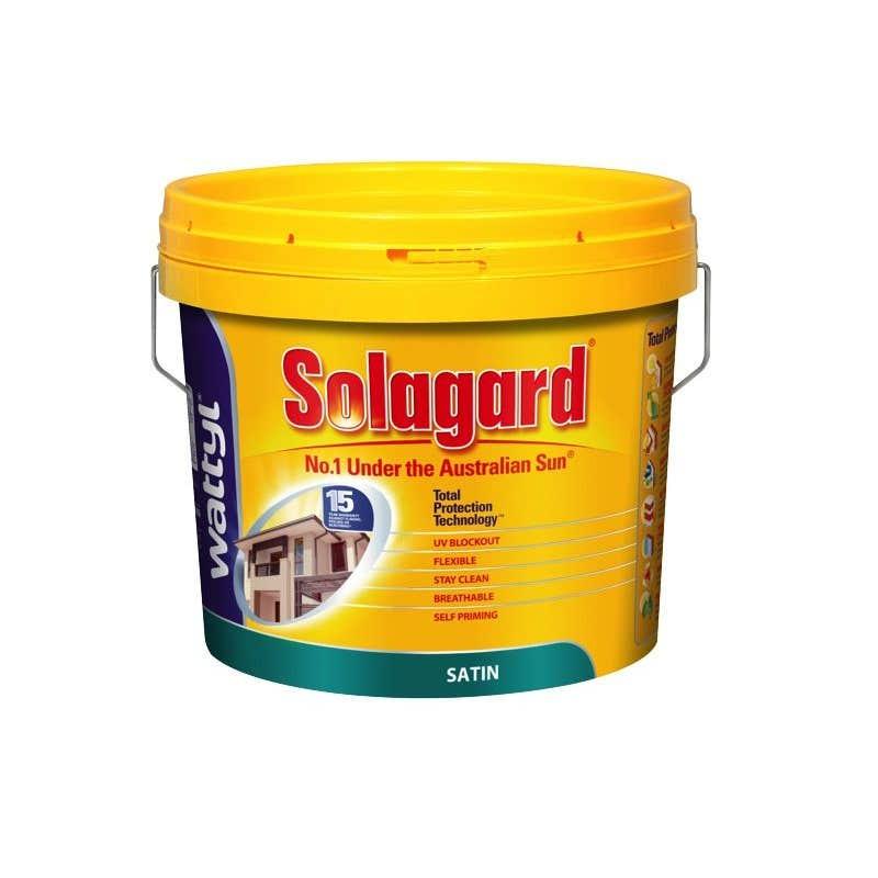 Wattyl Solagard Satin 10L