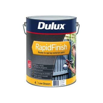 Dulux Rapid Finish 10L Low sheen Vivid White