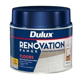 Dulux Renovation Range Floors Gloss White 1L