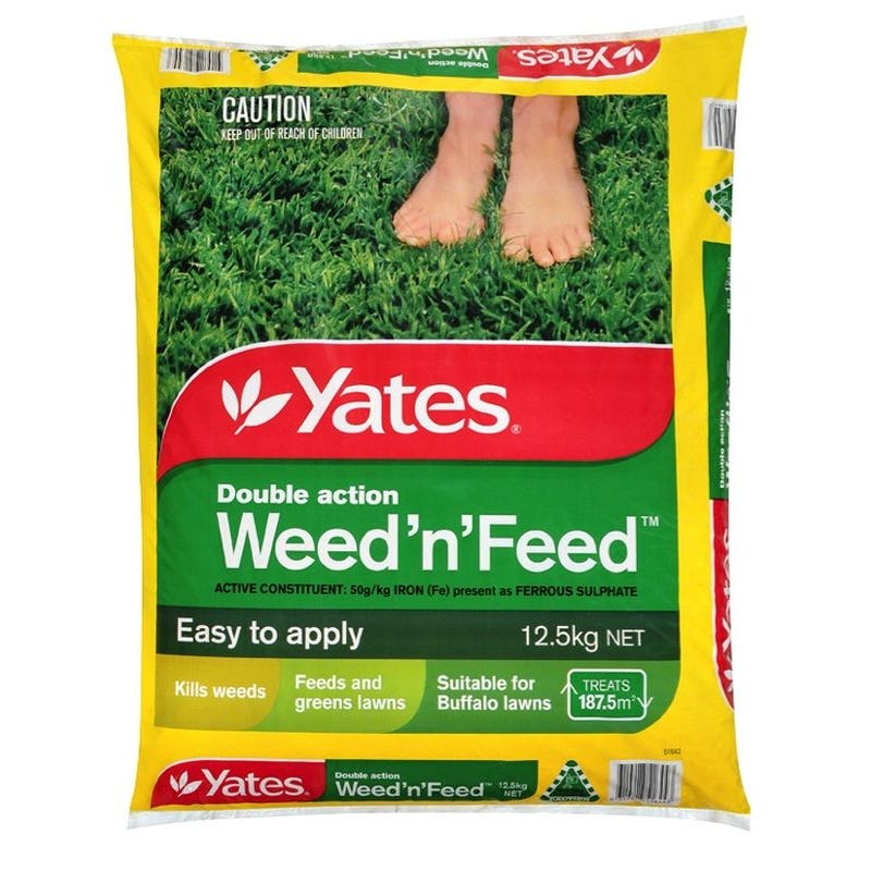 Yates 12.5kg Weed 'n' Feed Fertiliser | Home Timber & Hardware
