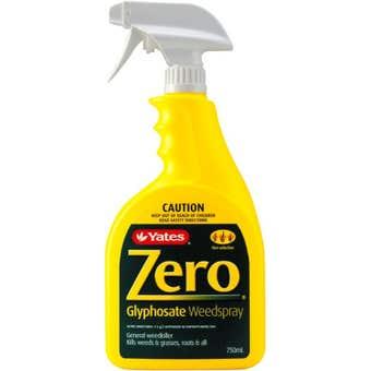 Yates Zero Glyphosate Weedspray