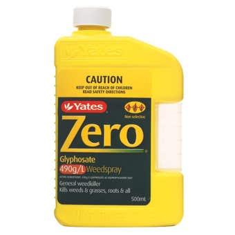 Yates Zero Glyphosate Weed Killer