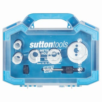 Sutton Tools Bi-Metal Cobalt Holesaw Set