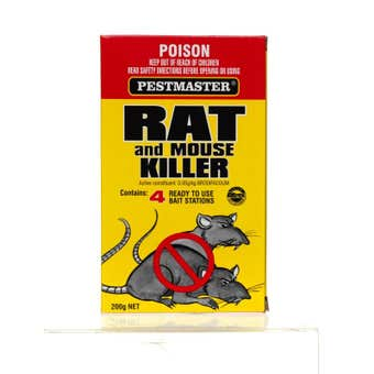 Pesticide Rat & Mouse 200G Pestmaster