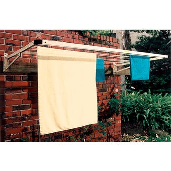 Clothesline Folding Frame Single Primrose