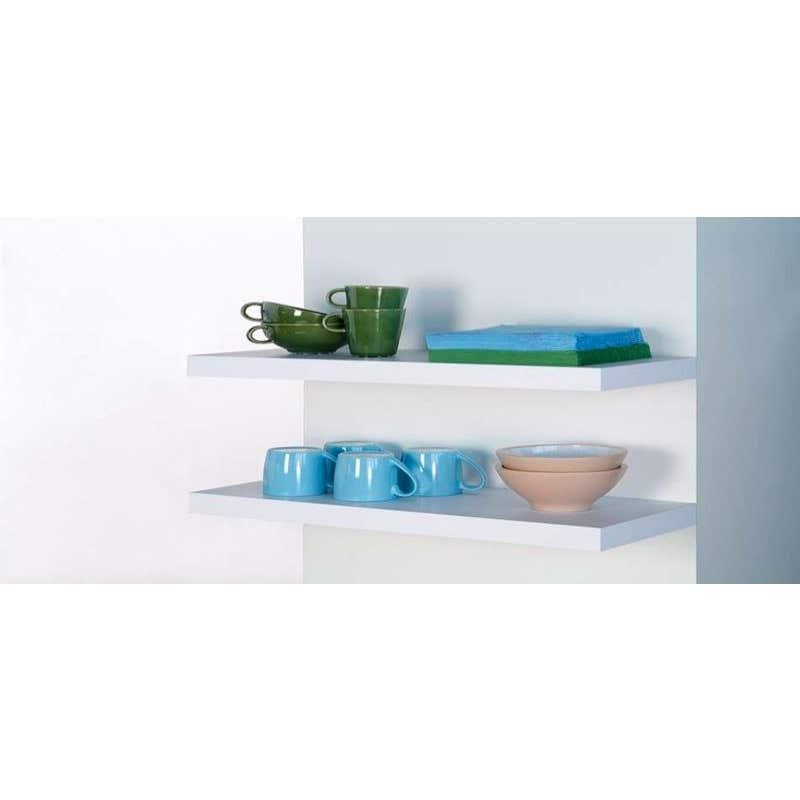 Topshelf Shelf Floating White 60x25x3.8cm