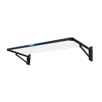Clothesline Folding Frame Twin Iron Grey