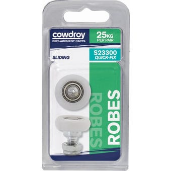 Cowdroy Quick Fix Wheels with Axle and Nut Pack