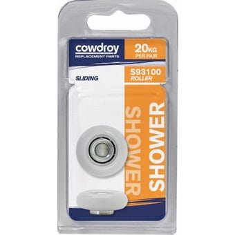 Cowdroy 19mm Convex Wheel & Bore 2 Pack