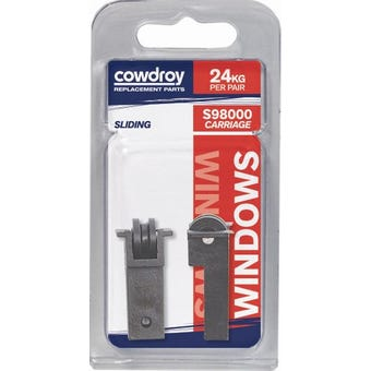 Cowdroy 10mm Sliding Window Concave Wheel Sheave 2 Pack