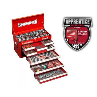 Sidchrome 204 Piece Tool Kit