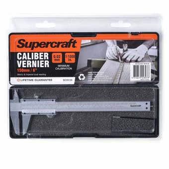 Supercraft 150mm Calliper Vernier