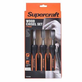 Supercraft 12-20-25mm Wood Chisel 3Pc