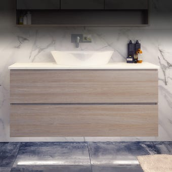 Timberline Nevada Plus Vanity Wall Hung 1200mm