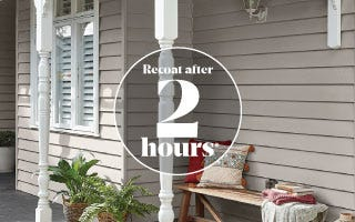 Refreshing a weatherboards with Accent DIY banner