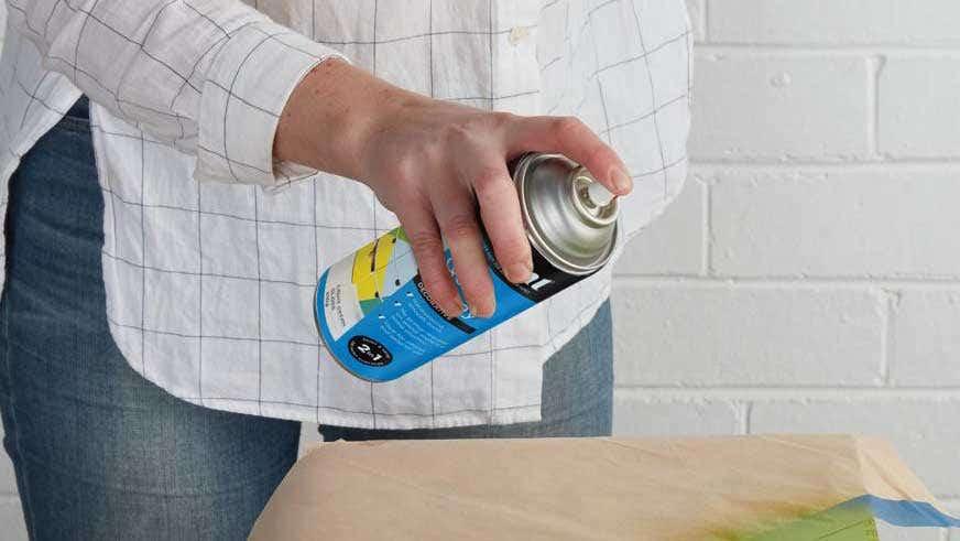Aerosol Paint Safety Product Instruction