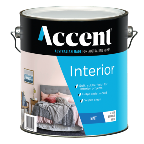 Accent Interior Paint Product