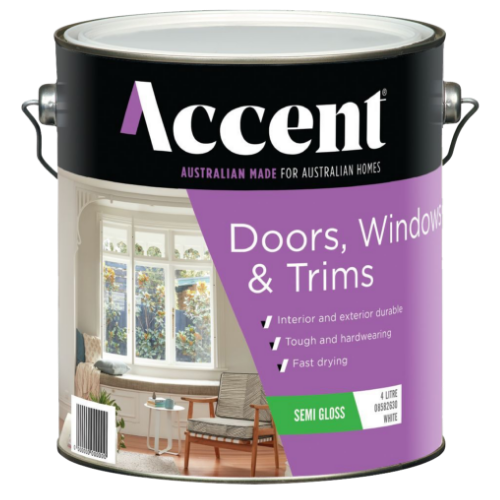 Accent Doors, windows, and trims Paint Product